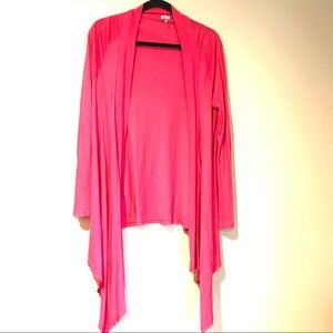 Splendid Waterfall Cardigan in Pink